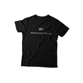 Koszulka MiO #madeinostroda czarna